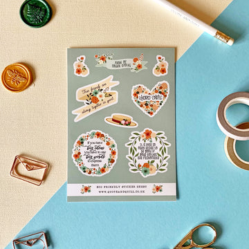 Anne of Green Gables Sticker Sheet