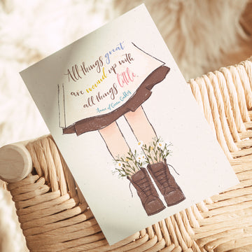 Anne of Green Gables - 'All Things Great' Postcard