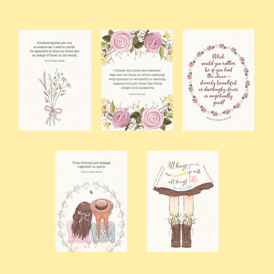 Anne of Green Gables Postcard Set