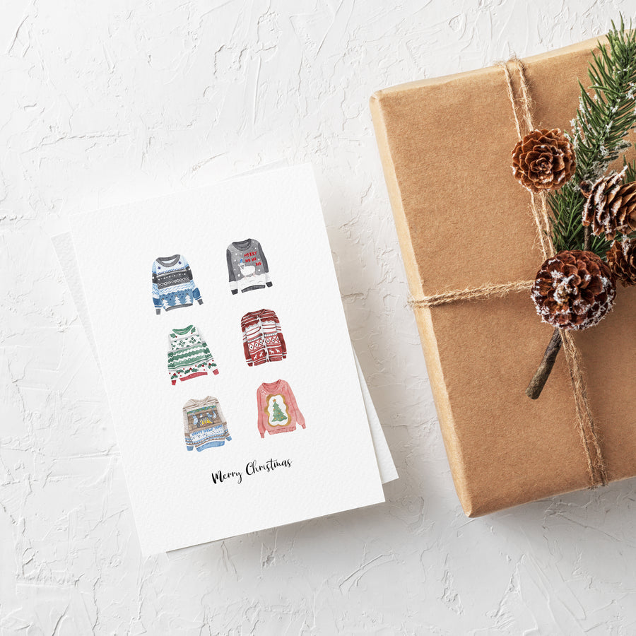 Christmas Card Bundle - Any 5 cards for £11.00