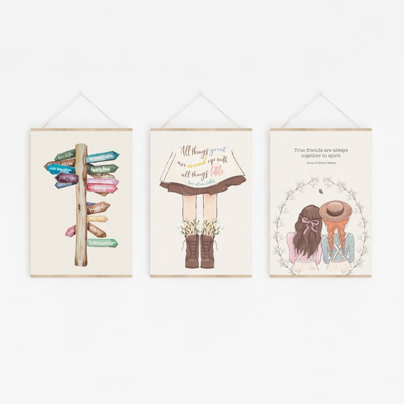 Anne of Green Gables Literary Gift Set