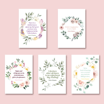 Pride and Prejudice Postcard Set