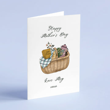 Little Women Picnic Mother's Day Card