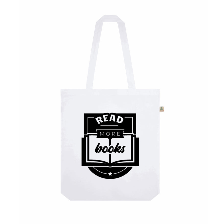 Read More Books Recycled Tote Bag