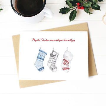 Fill You Home With Joy Christmas Card