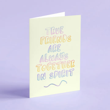L. M. Montgomery - True Friends Card