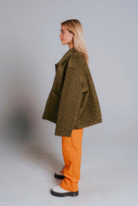 OVERSIZED THROW ON JACKET