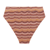 Hubert High Waist Bottom - Ngarrgooroon Stripe Print