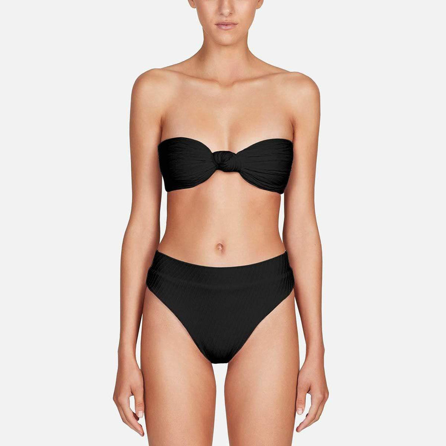 Fella Hubert High Waist Bottom - Black Bottoms