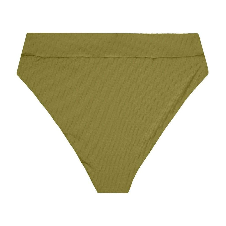 Hubert High Waist Bottom - Moss