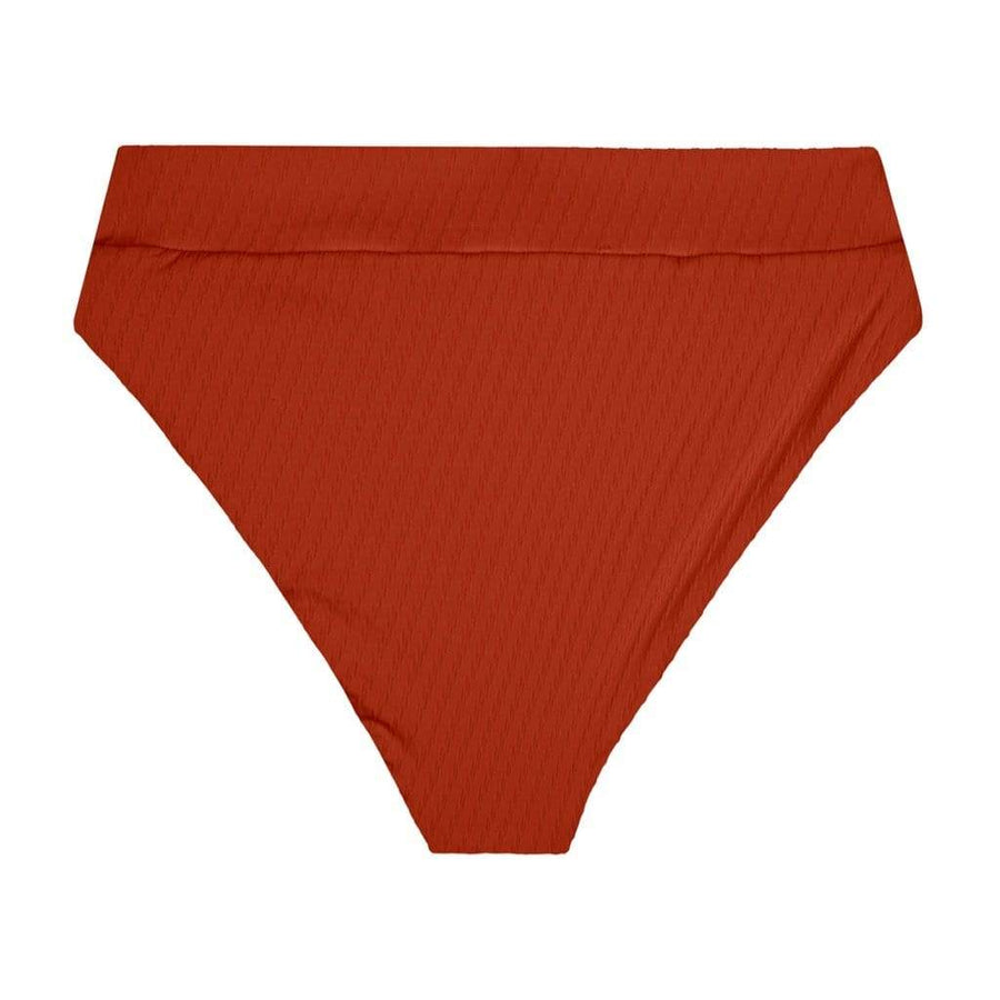 Hubert High Waist Bottom - Terracotta