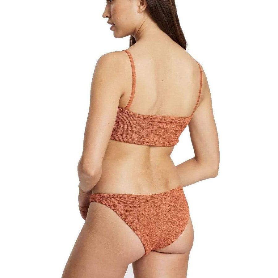 Gigi Bikini Set - Metallic Rust