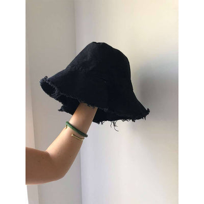 Isla Scott Dune Bucket Hat - Black
