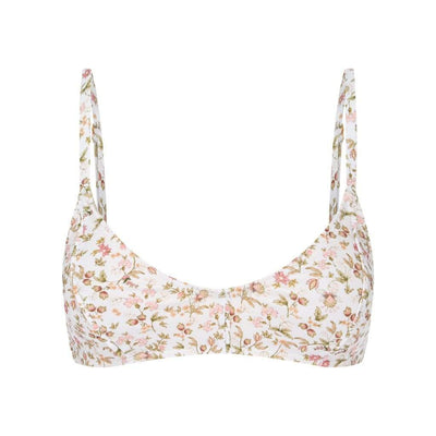 Peony Swimwear La Boheme Piped Bralette Tops