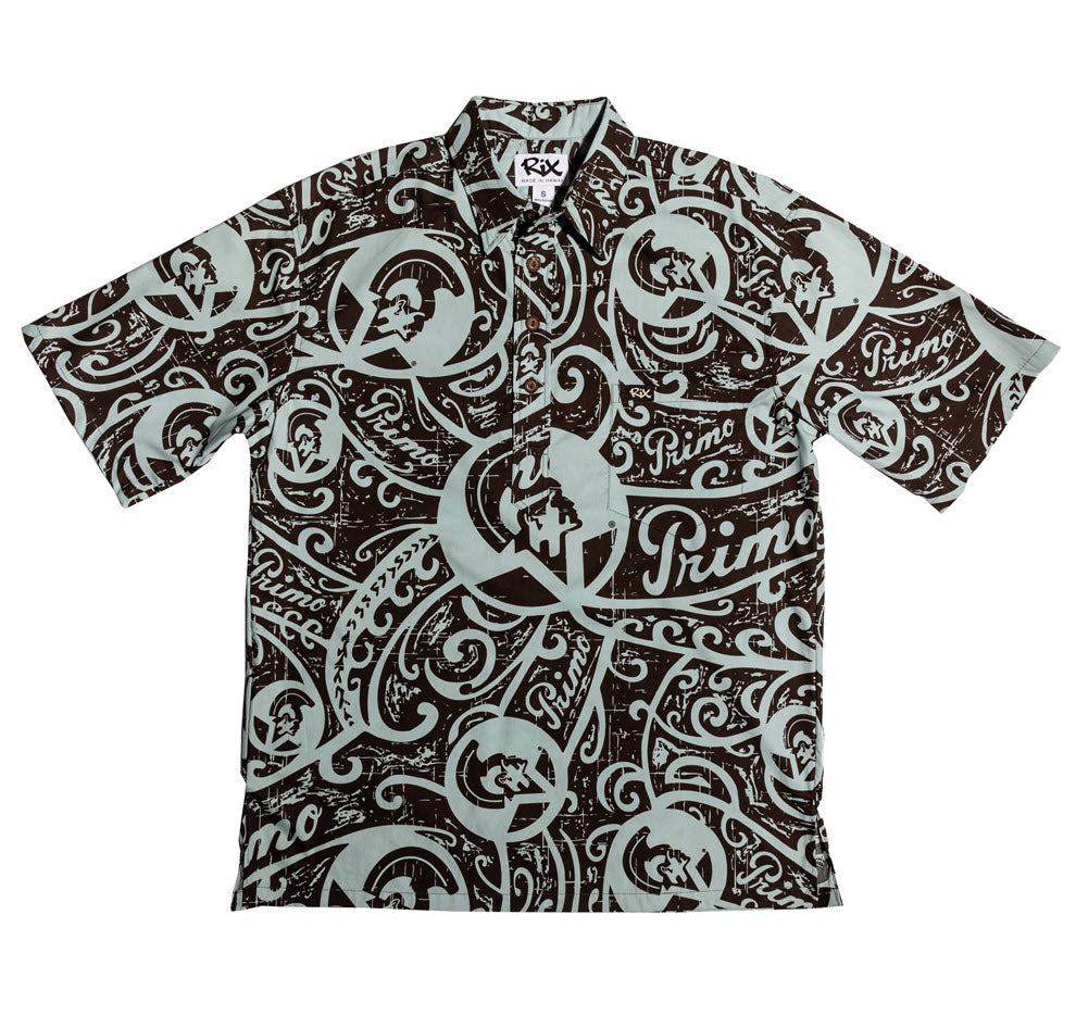PRIMO TRIBAL Pullover Hawaiian Shirt
