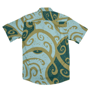 WAI'AU Slim Fit Hawaiian Shirt