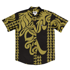HALAU Slim Fit Hawaiian Shirt