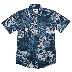 PAINA Slim Fit Hawaiian Shirt