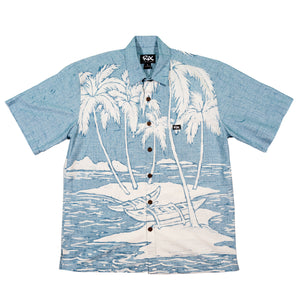 CANOE PALMS Classic Fit Hawaiian Shirt