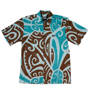 WAI'AU Classic Fit Hawaiian Shirt