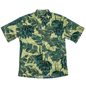 BANANA PATCH Classic Fit Hawaiian Shirt