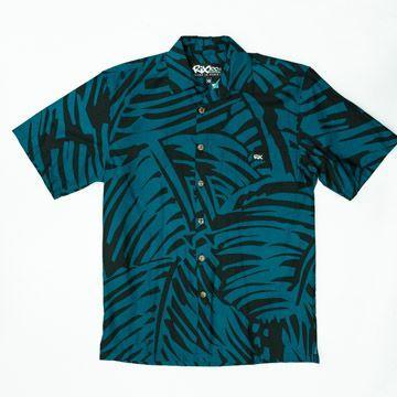 HURRICANE PALMS Classic Fit Hawaiian Shirt