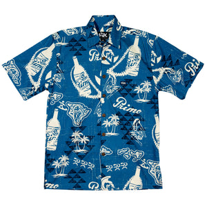 PRIMO THROWBACK Classic Fit Hawaiian Shirt
