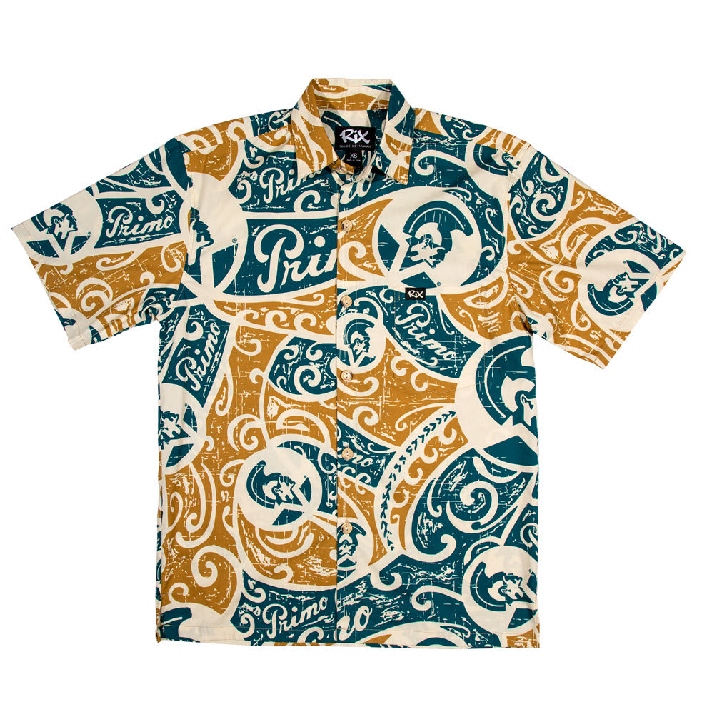 PRIMO TRIBAL Classic Fit Hawaiian Shirt