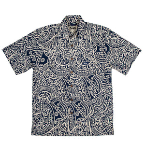KALAI LINEN Classic Fit Hawaiian Shirt