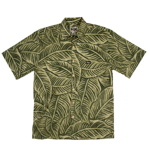 LAU NAHELE LINEN Classic Fit Hawaiian Shirt