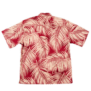 PALM LINEN Hawaiian Shirt