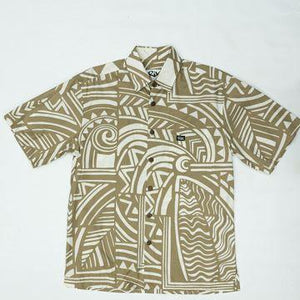 PAHUPU Classic Fit Hawaiian Shirt