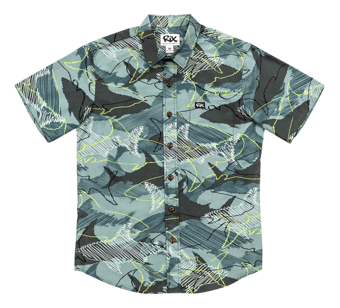 MANO Slim Fit Hawaiian Shirt