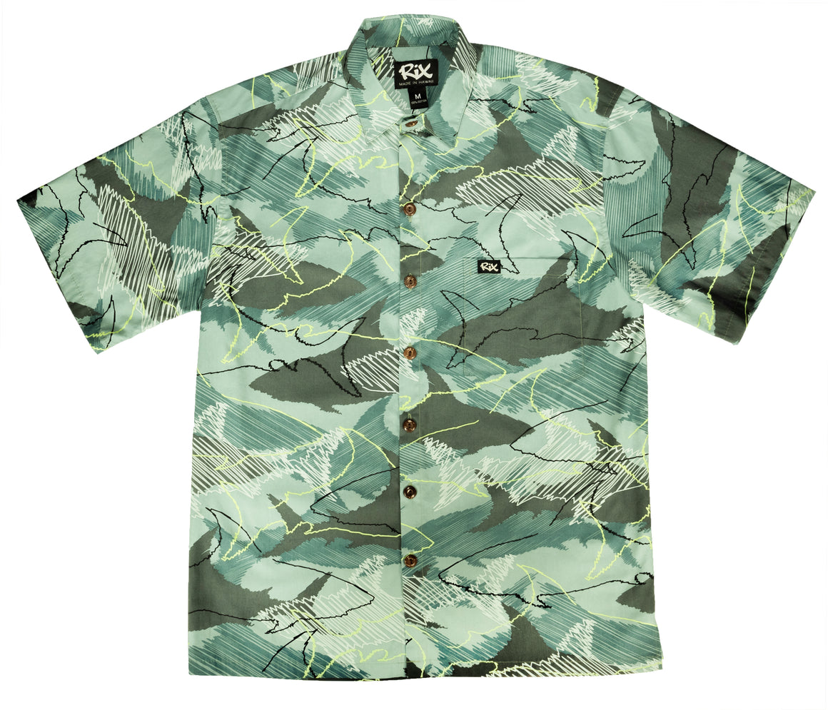 MANO Classic Fit Hawaiian Shirt