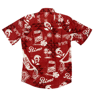 PRIMO THROWBACK Slim Fit Hawaiian Shirt