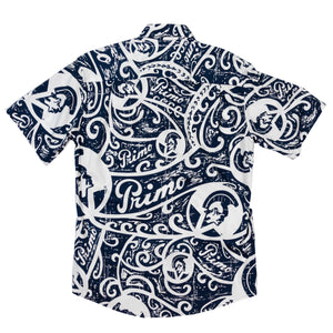 PRIMO TRIBAL Slim Fit: navy/white
