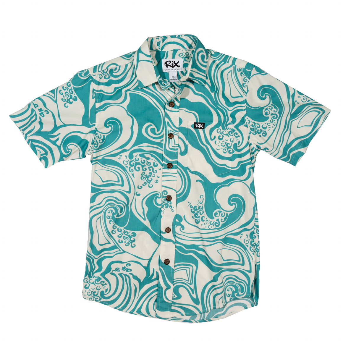 WAIMEA Slim Fit Hawaiian Shirt