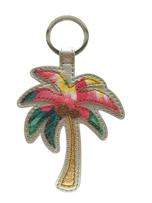 Meili Palm Tree Key Chain