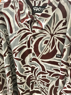 HAU'OLI LA Classic Fit Hawaiian Shirt