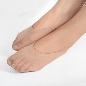 Women's Invisible Silk Socks
