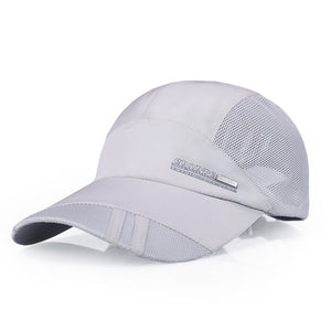 Outdoor Freely Mesh Letter Baseball Cap Men