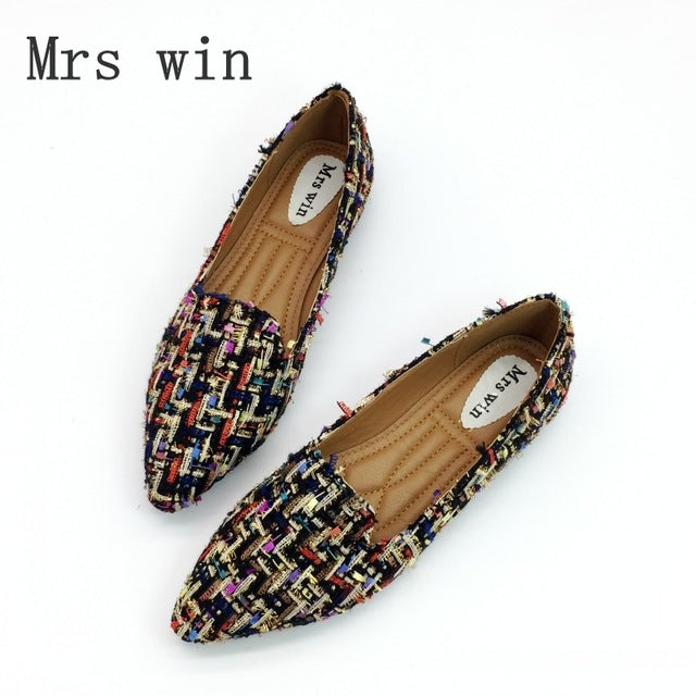 Spring Autumn Women Flats Shoes for Work
