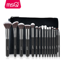 15 Pieces Makeup Brushes Set