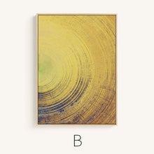 Round Lines Color Gradient Abstract Canvas Posters