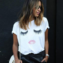Lips Printed Summer Tee