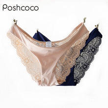 Comfortable Lace & Silk Female Briefs