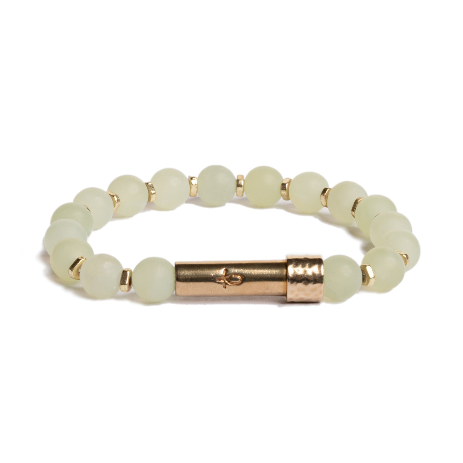 Matte Light Jade Shine Bracelet