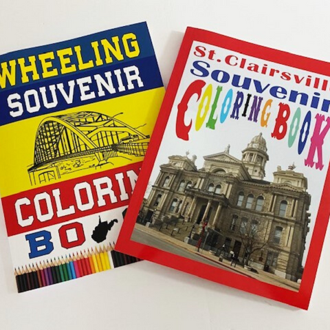 Souvenir Coloring Books