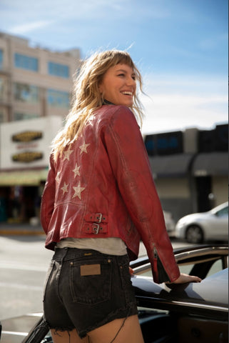 Christy Leather Jacket
