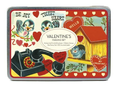 Valentine's Mailing Set by Cavallini & Co.